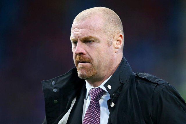 Sean Dyche, Manager of Burnley (Photo by Alex Livesey/Getty Images)