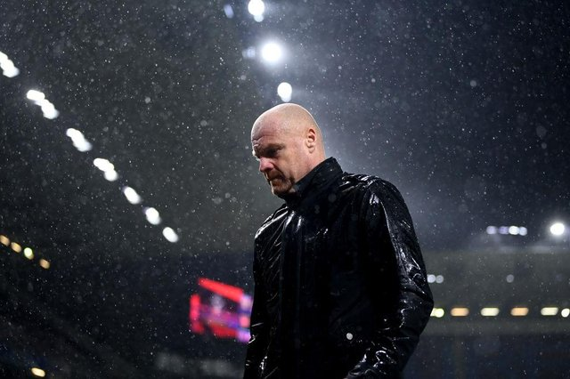 Sean Dyche, Manager of Burnley.  (Photo by Gareth Copley/Getty Images)