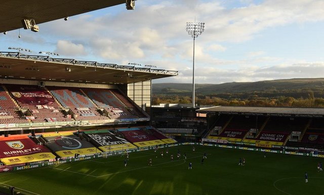 Turf Moor, the home of Burnley Football Club. (Photo by Oli Scarff - Pool/Getty Images)