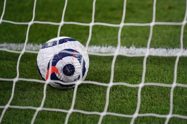 Premier League match ball. (Photo by Gareth Copley/Getty Images)