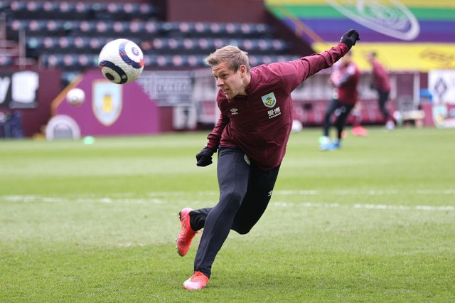 Matej Vydra of Burnley. (Photo by Clive Brunskill/Getty Images)