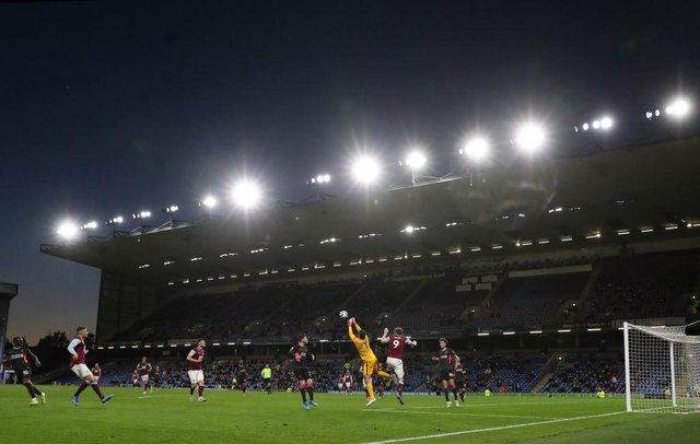 Turf Moor. (Photo by Martin Rickett - Pool/Getty Images)