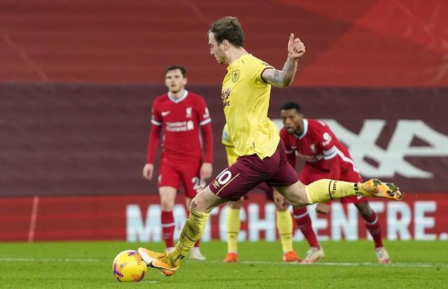 'Burnley will score' - Mark Lawrenson makes Clarets prediction ahead of Liverpool clash