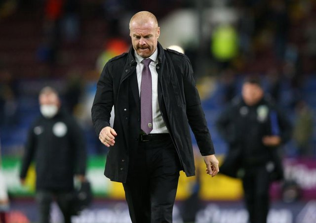 Sean Dyche, Manager of Burnley. (Photo by Alex Livesey/Getty Images)