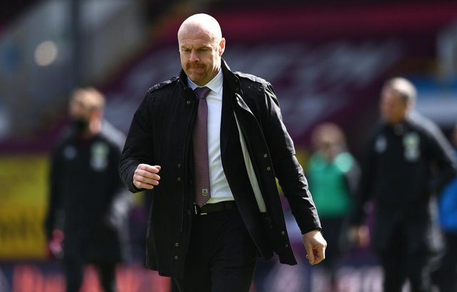 Burnley manager Sean Dyche. (Photo by Stu Forster/Getty Images)