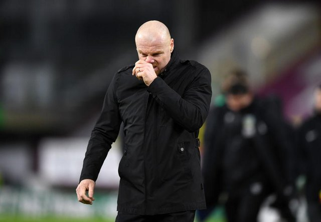 Burnley manager Sean Dyche. (Photo by Gareth Copley/Getty Images)