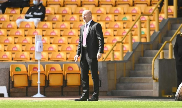Sean Dyche, Manager of Burnley.  (Photo by Michael Regan/Getty Images)