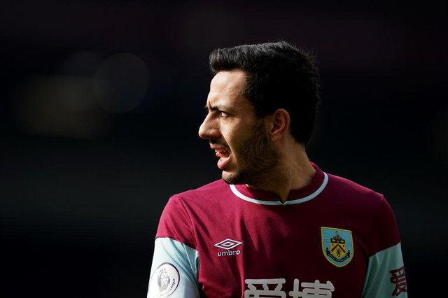 Dwight McNeil of Burnley. (Photo by Jon Super - Pool/Getty Images)