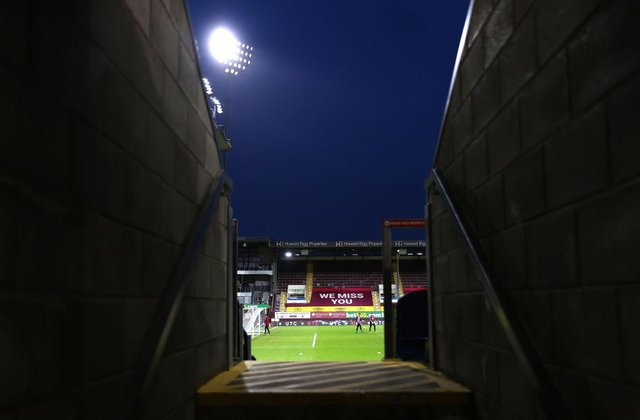 Turf Moor, the home of Burnley Football Club.. (Photo by Carl Recine - Pool/Getty Images)