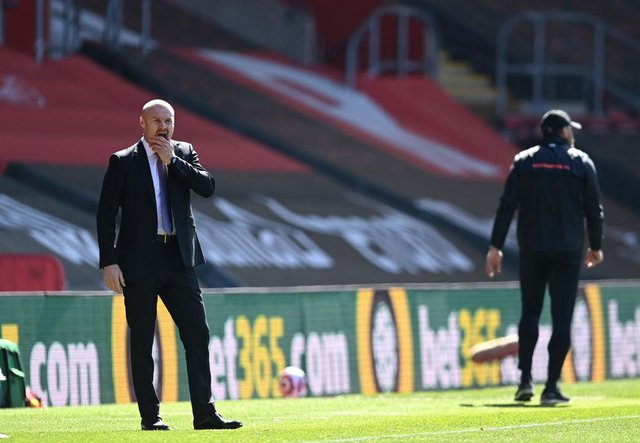 Sean Dyche, Manager of Burnley (Photo by Glyn Kirk - Pool/Getty Images)