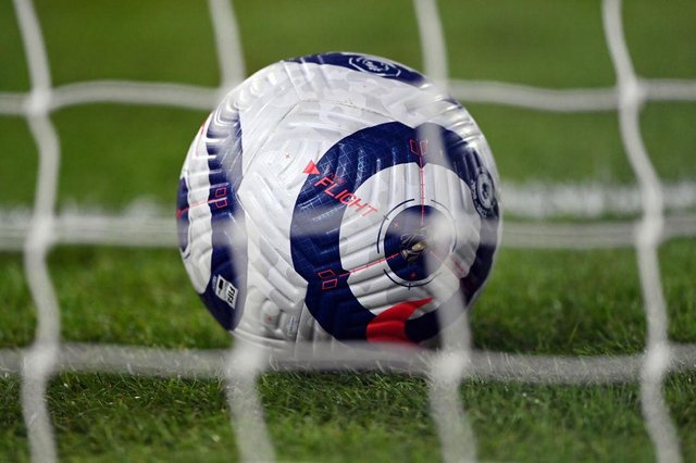 Premier League match ball. (Photo by Laurence Griffiths/Getty Images)