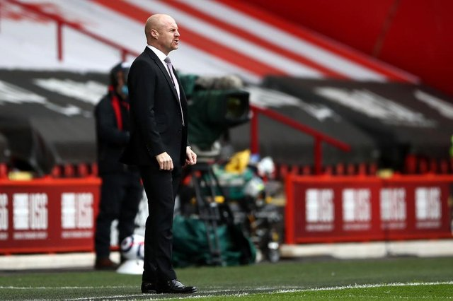 Sean Dyche, Manager of Burnley. (Photo by Tim Goode - Pool/Getty Images)